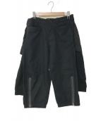 UNDERCOVERISM(アンダーカバーイズム)の古着「デザインパンツ」|ブラック
