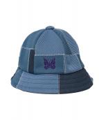 Needles(ニードルス)の古着「Bermuda Hat-Poly Jq.」|ブルー