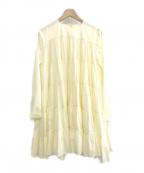 merlette(マーレット)の古着「20SS SOLIMANドレスワンピース」 イエロー