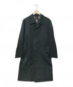 Burberrys()の古着「1枚袖ステンカラーコート」|グリーン