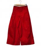 SHINYA KOZUKA(シンヤコズカ)の古着「Dickiesバギーパンツ」|レッド