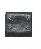 Maison Martin Margiela(メゾンマルタンマルジェラ)の古着「20A/W 2つ折り財布」|ブラック