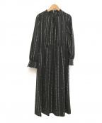 Leilian(レリアン)の古着「ブラウスワンピース」 ブラック