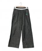 FACETASM()の古着「19S/S FACE DENIM EASY PANTS」|ブラック