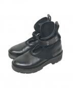 3.1 phillip lim()の古着「Cat Combat Boot」 ブラック