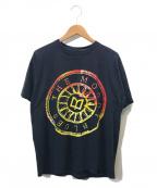 バンドTシャツ(バンドTシャツ)の古着「[古着]The Moody BluesバンドTシャツ」 ブラック