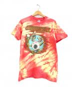 バンドTシャツ(バンドTシャツ)の古着「[古着]JIMI HENDRIX バンドTシャツ」 レッド