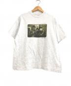 ラップTシャツ(ラップTシャツ)の古着「[古着]RUNDMC HIP-HOP Tシャツ」|グレー