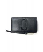 Marc by Marc Jacobs(マークバイマークジェイコブス)の古着「2つ折り財布」|ブラック