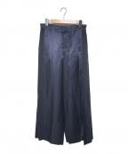 MORABITO(モラビト)の古着「ワイドパンツ」|ネイビー