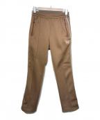 Needles()の古着「Narrow Track Pant  Poly Smooth」|ブラウン