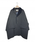 KOLOR(カラー)の古着「Knit-docking coat」|ネイビー