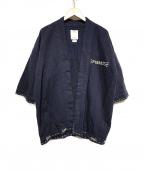 VISVIM(ビズビム)の古着「SANJURO KIMONO」 ネイビー