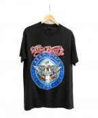 バンドTシャツ(バンドTシャツ)の古着「[古着]AERO SMITH バンドTシャツ」 ブラック