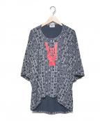 Vivienne Westwood man()の古着「半袖カットソー」 ネイビー