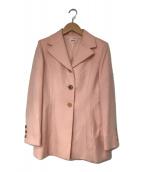 ()の古着「カシミヤジャケット」|ピンク
