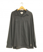 CRIMIE(クライミー)の古着「SWALLOW EMBROIDELY RAYON SHIRT」 ブラック