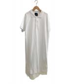 ()の古着「SUVIN KANOKO ポロドレス」|ホワイト