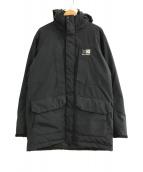 ()の古着「Global down coat」|ブラック
