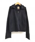 daisy lin for foxey(デイジーリン フォー フォクシー)の古着「ニットジャケット」|ネイビー