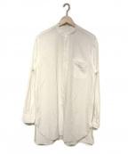 COMOLI(コモリ)の古着「21S/S バンドカラーシャツ」|ホワイト