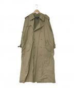 RALPH LAUREN(ラルフローレン)の古着「ヴィンテージ 一枚袖トレンチコート」|ベージュ