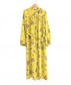 Lois CRAYON(ロイスクレヨン)の古着「シャツワンピース」|イエロー
