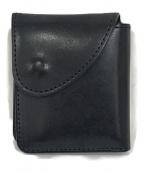 ()の古着「wallet」 ネイビー