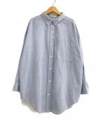 Plage(プラージュ)の古着「ドライオックスオーバーシャツ」|スカイブルー
