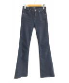 ()の古着「EMMANUELLE SLIM BOOT」 ブラック