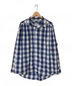 AiE(エーアイイー)の古着「20S/S Painter Shirt」 ブルー