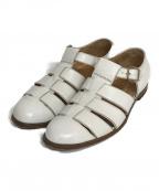 Giacometti(ジャコメッティ)の古着「グルカサンダル」|ホワイト