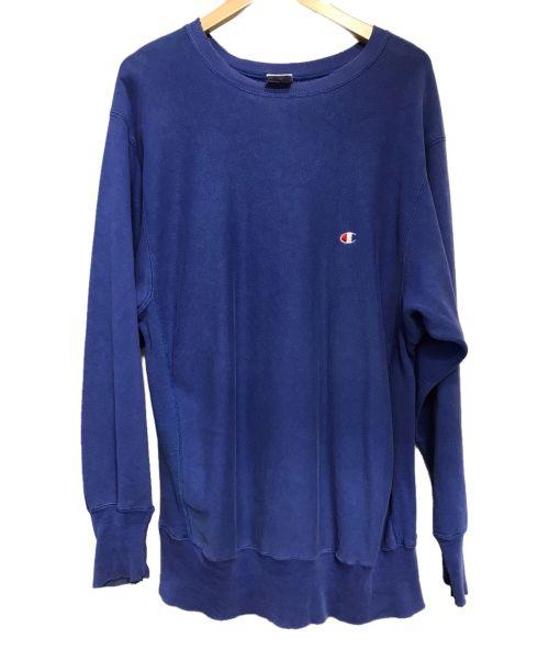 Champion(チャンピオン)Champion (チャンピオン) 90s 目付リバースウィーブスウェット ブルー サイズ:XLの古着・服飾アイテム