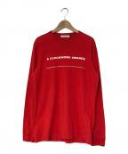 UNDERCOVER(アンダーカバー)の古着「19AW Clockwork Orange L/S T-Sh」|レッド