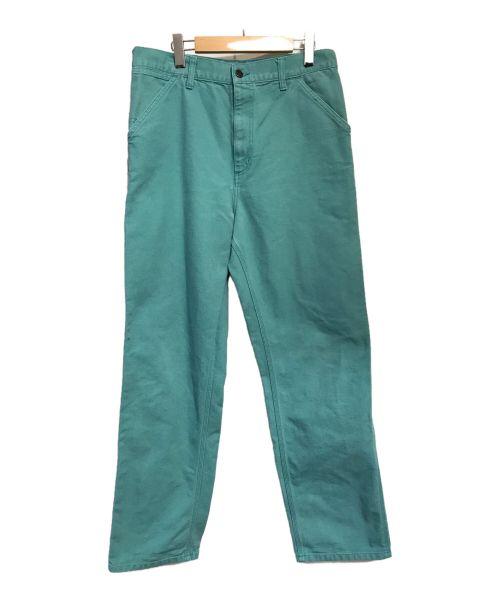 Carhartt WIP(カーハート ダブリューアイピー)Carhartt WIP (カーハート ダブリューアイピー) SINGLE KNEE PANT スカイブルー サイズ:32の古着・服飾アイテム