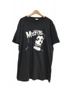 ()の古着「misfits Tシャツ」 ブラック