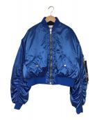 ()の古着「BOMBER JACKET」|ブルー