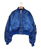 MSGM(エムエスジーエム)の古着「BOMBER JACKET」|ブルー