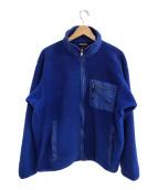 ()の古着「フリースジャケット」 ブルー