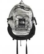 SUPREME×THE NORTH FACE(シュプリーム ×ザノースフェイス)の古着「Metallic Borealis Backpack」 グレー
