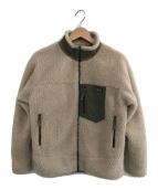()の古着「レトロXジャケット」 アイボリー