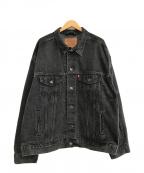 LEVI'S(リーバイス)の古着「90s USA製デニムジャケット」 ブラック