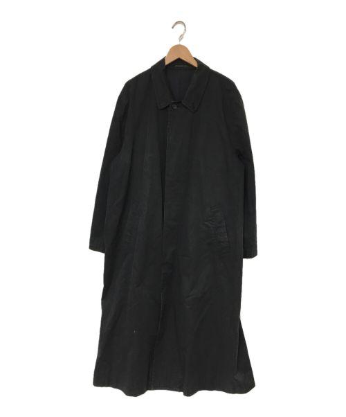COMME des GARCONS HOMME(コムデギャルソン オム)COMME des GARCONS HOMME (コムデギャルソン オム) ロングコート ブラック サイズ:Mの古着・服飾アイテム