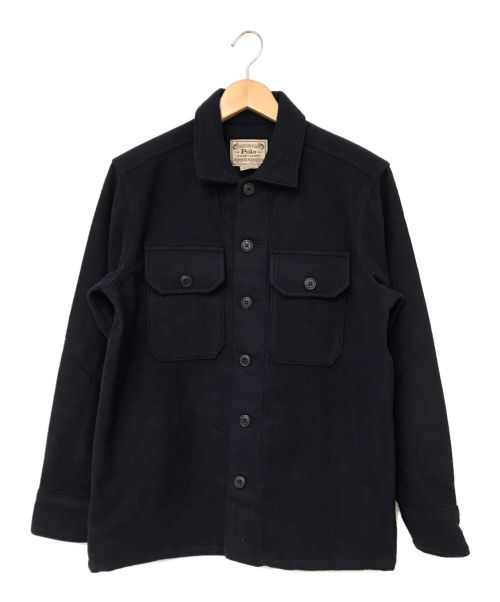 POLO RALPH LAUREN(ポロ・ラルフローレン)POLO RALPH LAUREN (ポロ・ラルフローレン) ウールジャケット ネイビー サイズ:XSの古着・服飾アイテム