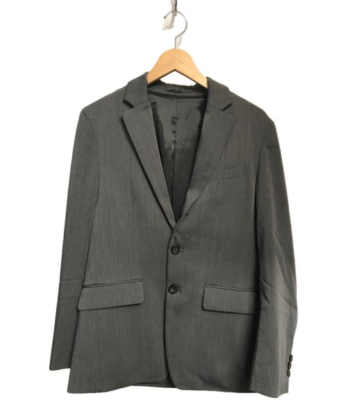 PUBLIC TOKYO(パブリックトウキョウ)PUBLIC TOKYO (パブリックトウキョウ) サイロスパンストレッチテーラードジャケット グレー サイズ:1の古着・服飾アイテム