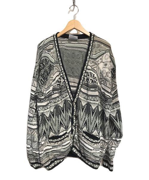 Coogi(クージー)Coogi (クージー) カーディガン ホワイト サイズ:Mの古着・服飾アイテム