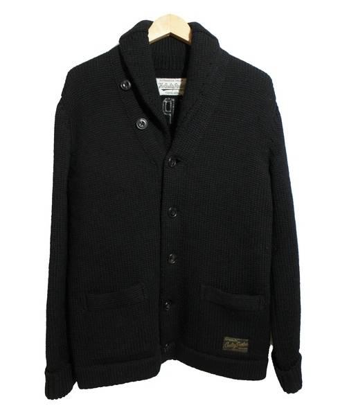 WACKOMARIA (ワコマリア) ショールカラーカーディガン ブラック サイズ:M