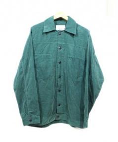 WISM(ウィズム)の古着「コーデュロイシャツ」|グリーン