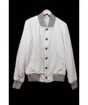 RHC Ron Herman(アールエイチシー ロンハーマン)の古着「ブルゾン」 ホワイト×グレー