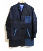HOLLYWOOD RANCH MARKET(ハリウッドランチマーケッド)の古着「パチワークデニムコート」|インディゴ